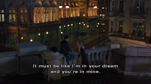 "One of the many great quotes of ""Before Sunrise"""