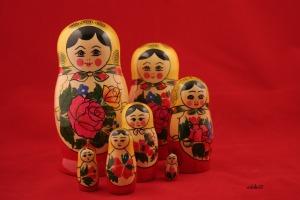 The Babushka Dolls - Photo courtesy of Ron Doke @ Flickr