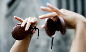 Castanets . Photo Courtesy of Andy's Blog.