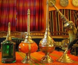 Various Moroccan sprinkler designs. Photo courtesy of moroccancaravan.com