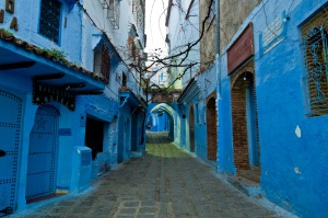 Mesmerizing blue Chefchaouen. Photo by Mark Fischer @Flickr