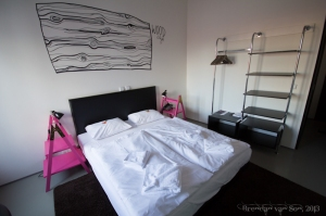 Hotel Fusion in Prague with its ultra modern room designs by Brendan van Son.