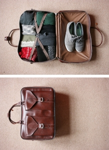 A perfect suitcase! By Jen Collins.